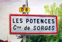 Clément Collet-Billon (Tu) Limoges > Les Potences, Watercolors on paper, 75x110 cm, 2016