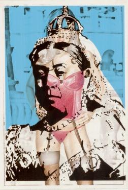 Clément Collet-Billon, Victoria's Corset, crayons de couleur et encres imprimantes sur papier, 21x14,7cm, 2006