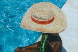 Clément Collet-Billon, Wild West Show, (A Disney Show... ) oil on canvas, 120x180 cm, 2010