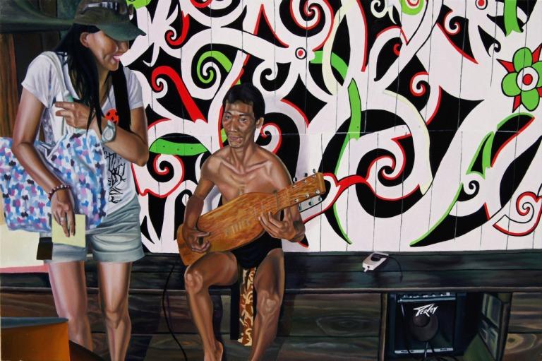 """""""Human Zoo, now !  Cultural Village, Sarawak"""""""