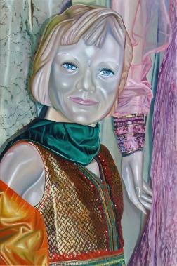 Clément Collet-Billon, Gobineau in Kuala Lumpur, oil on canvas, 180x120cm, 2011