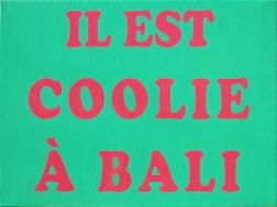 """Clément Collet-Billon, """"Betadine Joke #17″, huile sur toile, 60x81cm, 2016"""